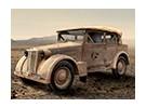 イタレリ1/35スケールフィアット508C」Colonialeの「プラスチックモデルキット