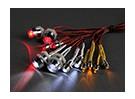 RCカー用のGTパワー12ピーススーパーブライトLED照明セット