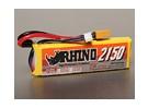 Rhinoの2150mAh 2S 7.4V 25CとLipolyパック