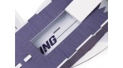 H-King J-20 - Glue-N-Go - 5mm Foamboard PP 650mm (Kit) - battery hatch