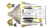 H-King Arctic Cat Water Plane - Glue-N-Go - Foamboard PP 820mm Yellow (Kit) - kit