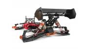 BSR Berserker 1/8 Electric Truggy Updated (Kit) - rear 3/4 no body