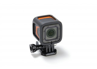 FOXEER 4K Action Camera - front view w mount