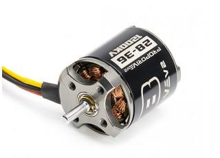 PROPDRIVE v2 2836 1200KV Brushless Outrunner Motor mounting holes