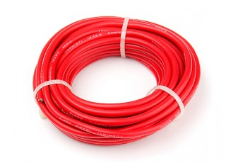 Turnigy High Quality 12AWG Silicone Wire 6m (Red)