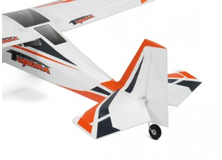Durafly Color Tundra 1300mm Anniversary Edition (Orange/Grey) (PnF) - Tail