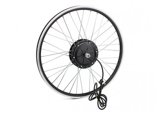 "E-Bike Conversion Kit for 26"" Bikes (PAS Front Wheel Drive) (36V/11A)  (US Plug) - wheel"
