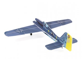 H-King Fw 190 - Glue-N-Go - 5mm Foamboard PP 975mm (Kit) - rear view