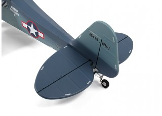H-King J3 Navy Cub (NE-1) 1400mm (PnP) - tail