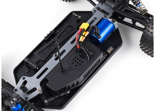 H-King Rattler 1/8 4WD Buggy (ARR) with 60A ESC - chassis