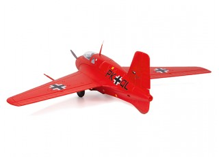 Durafly™ Me-163 Komet 950mm High Performance Rocket Fighter (PNF) (Red Edition) - back