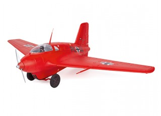 Durafly™ Me-163 Komet 950mm High Performance Rocket Fighter (PNF) (Red Edition) - front right