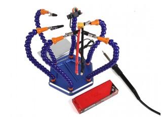 Turnigy Six Arm Soldering Station (w/USB Fan) - plugs