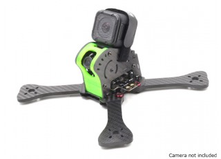 GEP-IX5 Fairy FPV Racing Drone Frame 200 (GREEN) (Kit) - with camera