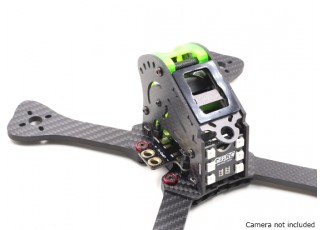 GEP-IX5 Fairy FPV Racing Drone Frame 200 (GREEN) (Kit) - back