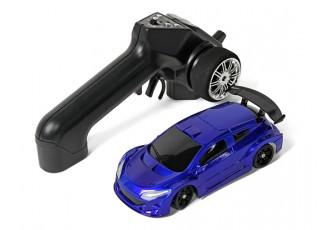 Mini-Q Sport 1:28 RC AWD Touring Car (RTR) (Blue) - package