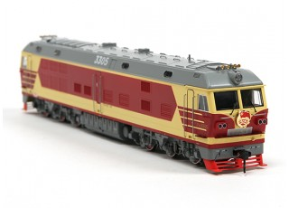 DF4DK Diesel Locomotive HO Scale (DCC Equipped) No.2 2