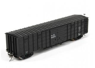P64K Box Car (Ho Scale - 4 Pack) (Black Set 3) front