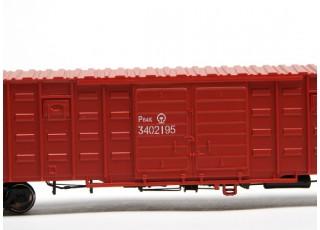 P64K Box Car (Ho Scale - 4 Pack) (Brown Set 4) 3