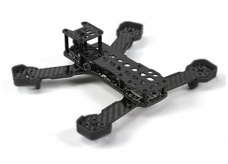 Diatone Tyrant 215 FPV Racing Drone - Black (Frame Kit) - back