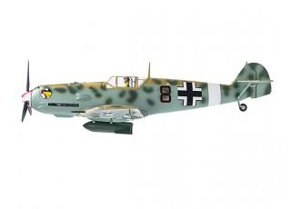 """Durafly™ Messerschmitt Bf.109E-4 Desert Scheme 1100mm (43.3"""") (PnF) - side"""
