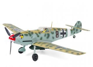 """Durafly™ Messerschmitt Bf.109E-4 Desert Scheme 1100mm (43.3"""") (PnF) - top"""