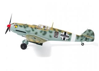 """Durafly™ Messerschmitt Bf.109E-4 Desert Scheme 1100mm (43.3"""") (PnF) - side wheels"""