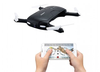 JJRC H37 ELFIE Foldable Mini RC Selfie Drone - control