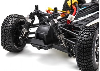 HIMOTO BARREN 4WD 1/18 Mini Desert Buggy (RTR) - Front suspension