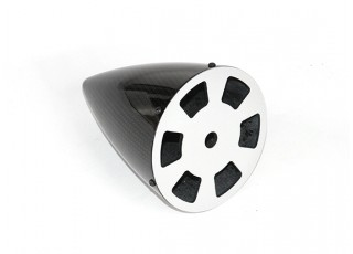 3.5 Inch Carbon Fiber Spinner with Aluminium Backplate - bottom