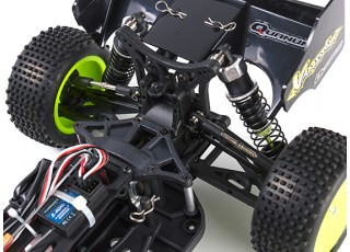 Quanum Vandal 1/10 4WD Electric Racing Buggy (RTR) - rear uncovered