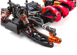 BSR Berserker 1/8 Electric Truggy Updated (ARR) - stearing