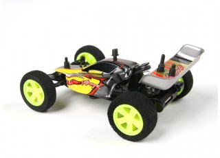 Velocis Viper 1/32 2WD Buggy (RTR) (Red) - rear view