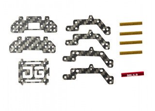 Orlandoo OH32A02 1/35 Rock Crawler Series - Upgrade Carbon Fiber Ladder Chassis Set
