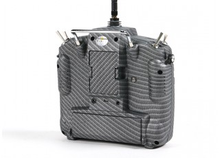 FrSky 2.4GHz ACCST TARANIS X9D PLUS Special Edition (M2) (International) (Carbon Fiber) (US Plug) back
