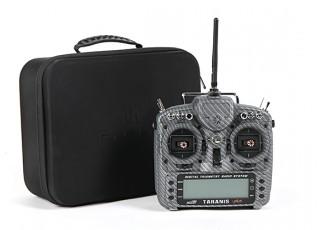FrSky 2.4GHz ACCST TARANIS X9D PLUS Special Edition (M2) (International) (Carbon Fiber) (US Plug) box
