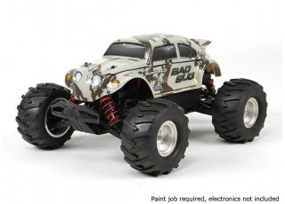 Scratch and Dent Basher 1/16 4WD Mini Monster Truck V2 - Bad Bug (Kit)