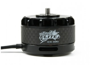SCRATCH/DENT - Multistar Elite 3510-350KV Carbon Case Multi-Rotor Motor