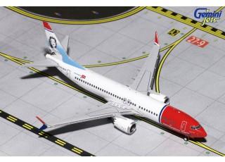 Gemini Jets NORWEGIAN Airlines Boeing 737 MAX 8 LN-MAX 1:400 Diecast Model GJNAX1654