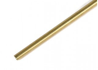 "K&S Precision Metals Brass Rod 1/4"" x 36"" (Qty 1)"