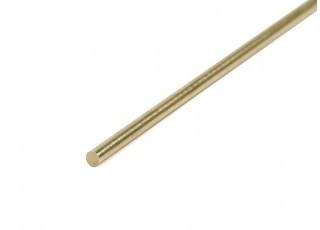 K&S Precision Metals Brass Rod 2mm x 1000mm (Qty 1)