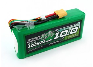 Multistar High Capacity 10000mAh 4S 10C Multi-Rotor Lipo Pack