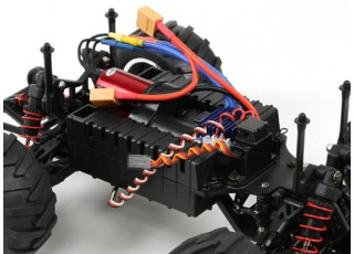 Basher 1/16 4WD Mini Monster Truck V2 - Bad Bug (Kit) 5