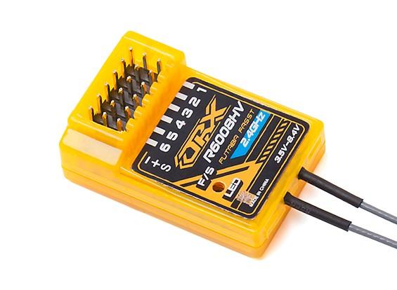 2.4GHz FASST compatível 6CH tamanho receptor: 35.5x23.3x12.7mm