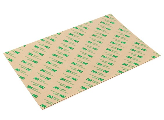 3D Printer Bed PEI (Polyetherimide) Self-Adhesive Sheet 300 x 200 x 0.75mm
