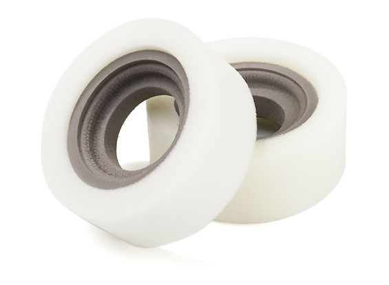 """DC Chequered Flag 1:10 Double Section 1.9"""" Type A Super-Soft Tire Inserts (2pcs)"""