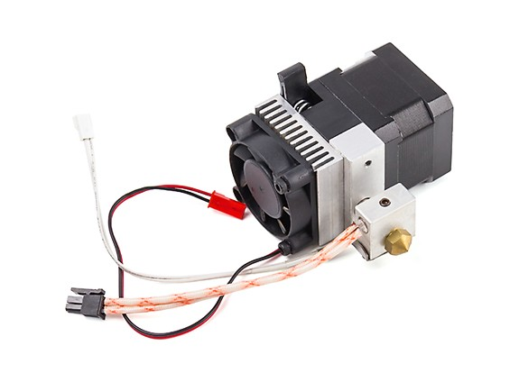 Malyan M150 i3 3D Printer Replacement Single Extruder Assembly