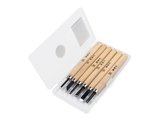Wood Carving Set (6pcs)