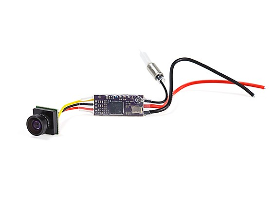 Kingkong Q25-Mini 5.8G 25mW 16ch Video Transmitter with 600TVL CMOS 1/4 Micro FPV Camera