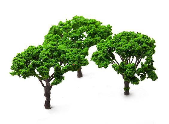 HobbyKing™ 120mm Scenic Wire Model Trees (3 pcs)